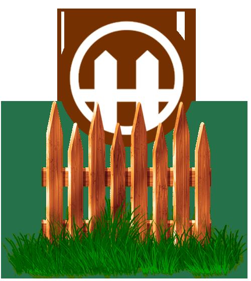 Деревянный забор 3D
