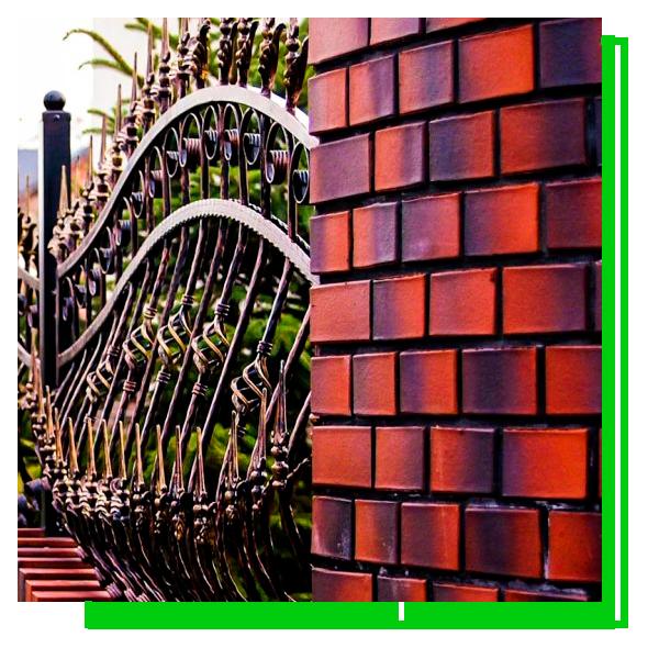 кованый забор сварной